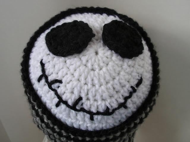 Crochet Jack Skellington Beanie & Zero Lovey-Dearest Debi Patterns | 480x640