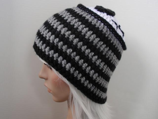 jack skellington crochet hat - Jenn Likes Yarn