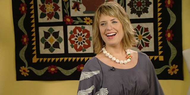 Host Brett Bara returns for a pattern-packed fourth season of Knit and Crochet Now!