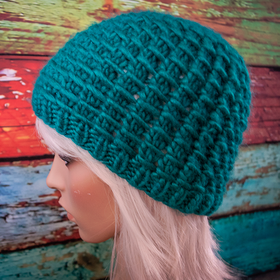 Free Knitting Pattern Winter Waffle Hat Jenn Likes Yarn