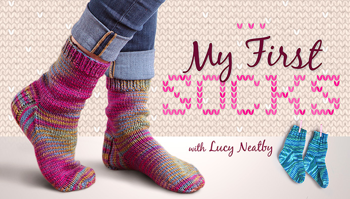 Knitting Socks For Beginners : Learn how to knit socks beginner resources jenn likes yarn