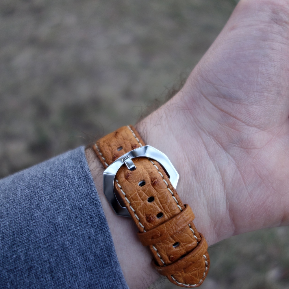 Duneshore buckle – available on 22mm straps