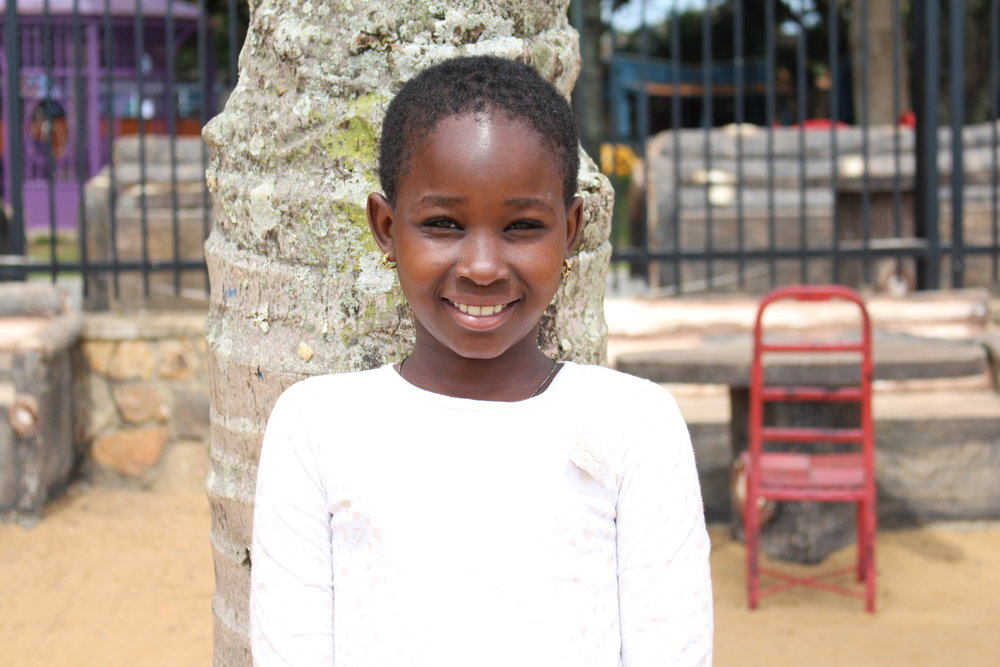 PRISCILLA NABIKINDU My birthday is October 4th. I want to be a doctor when I grow up. My favorite thing about Sozo is school fees. My favorite bible verse is Matthew 6:33.