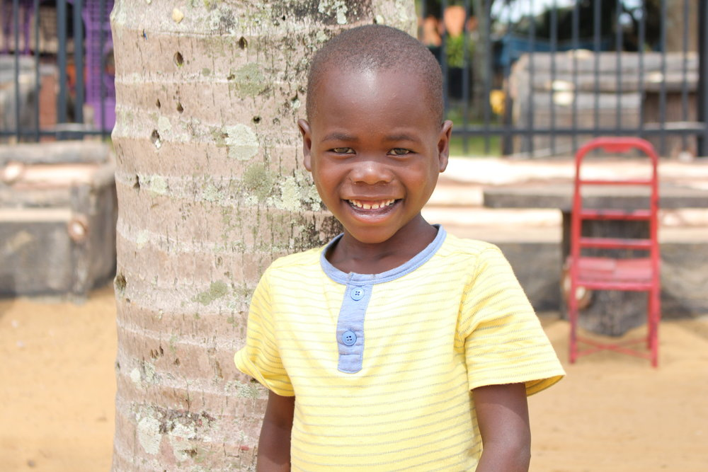 RONALD LUBEGA My birthday is October 20th. I want to be a hotel manager when I grow up. My favorite thing about Sozo is that Sozo provides school fees for us. My favorite bible verse is Psalm 29:7-8.