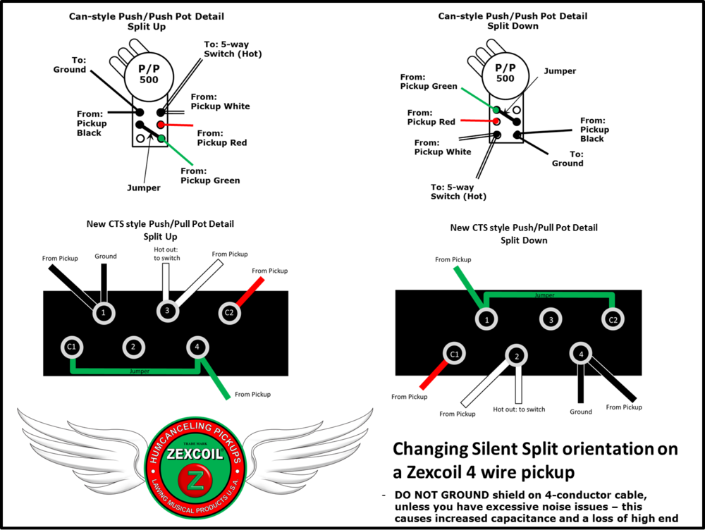 Silent Split Switch Up-Down Orientation