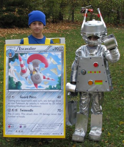 Pokemon Card & Lego Robot