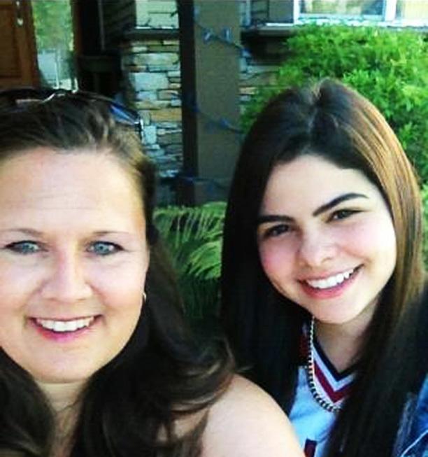Maitê e sua mãe canadense, Anita