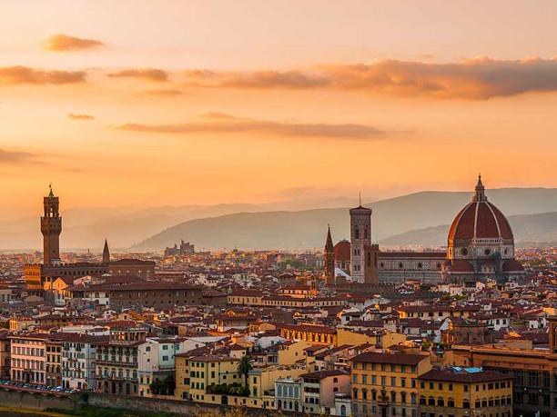 História da arte e italiano em Florença — Intercâmbio