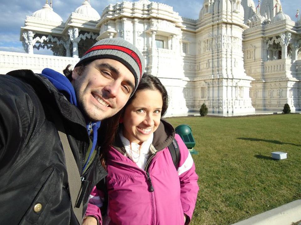 Novembro de 2010 - o novo casal passa as últimas três semanas da Ana em Toronto antes dela retornar à Venezuela.
