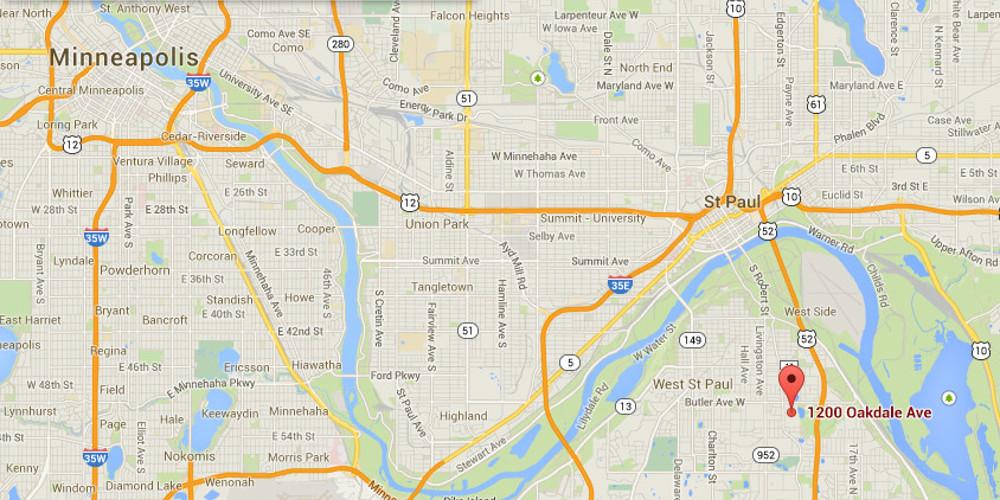 Clique na mapa para ver Street View