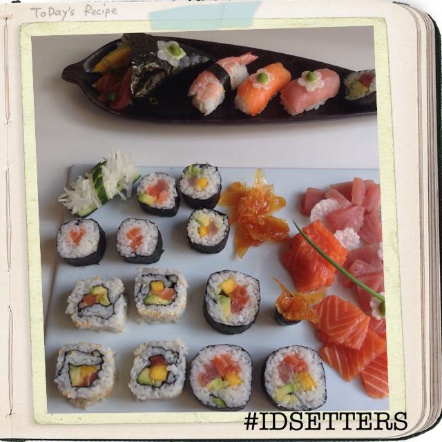 IDSETTERS SUSHI-SASHIMI PLATE