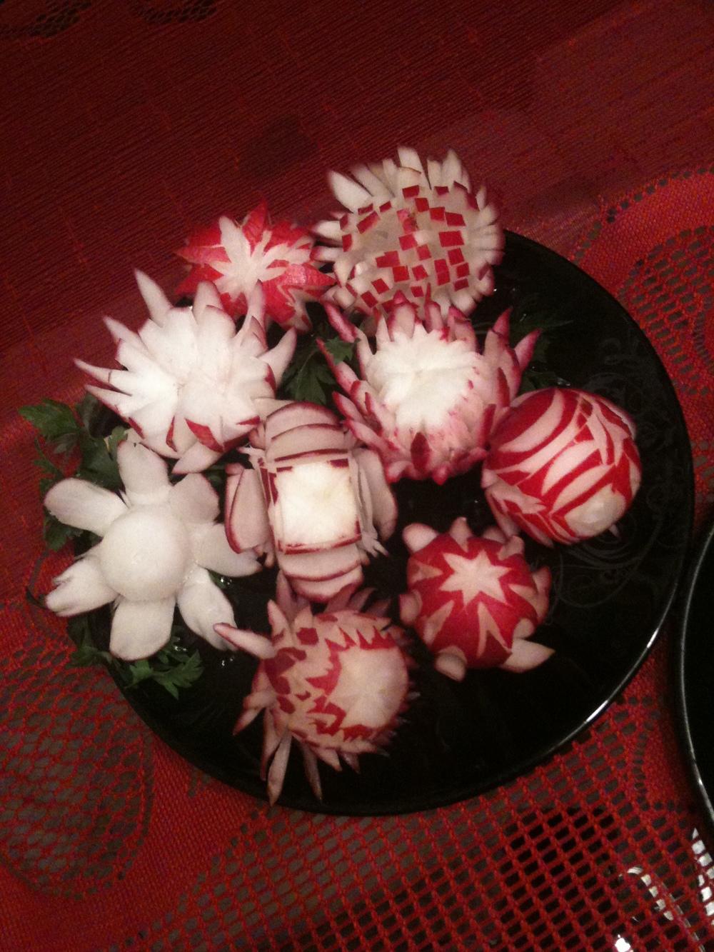 radish flower variety