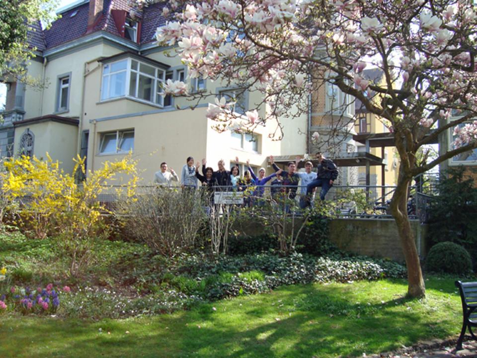 A escola de alemão em Radolfzell, Alemanha