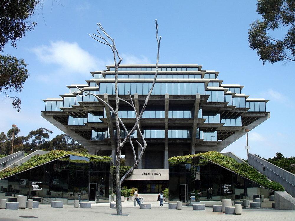 Biblioteca da UCSD
