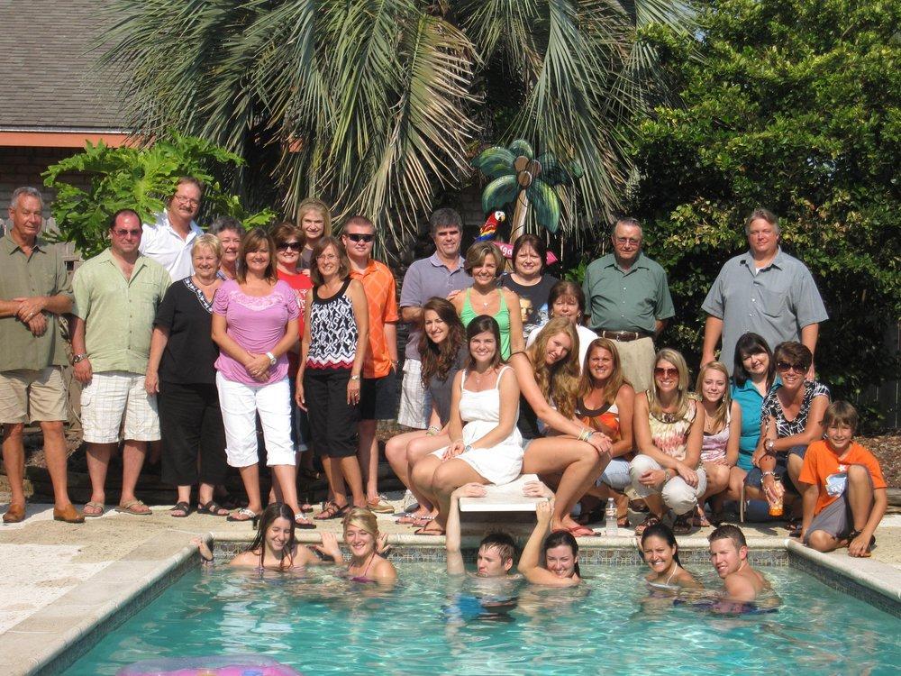 Famílias reunidas