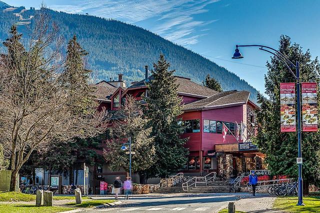 Sede da escola em Whistler, Canadá