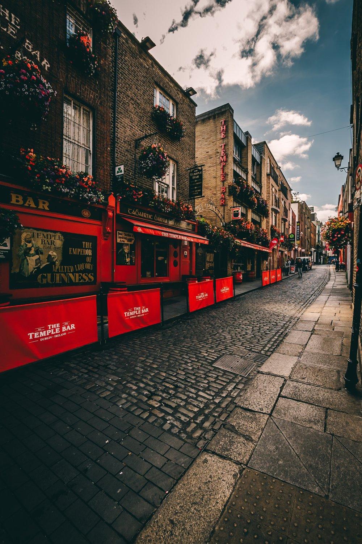 As charmosas ruas de Dublin