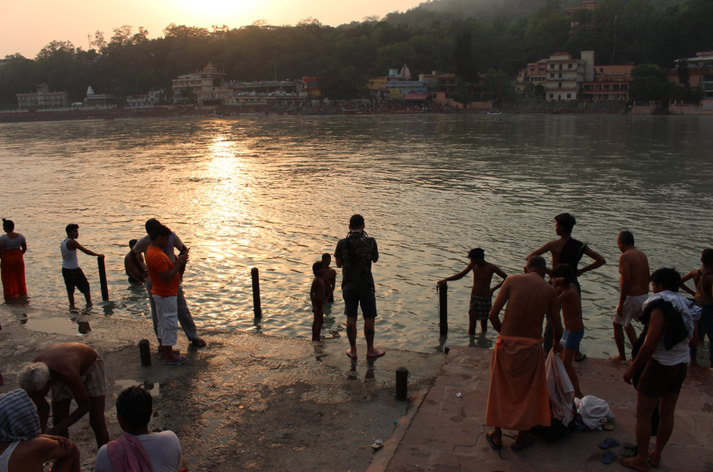 Rishikesh, India - Photograph by Angar Awj