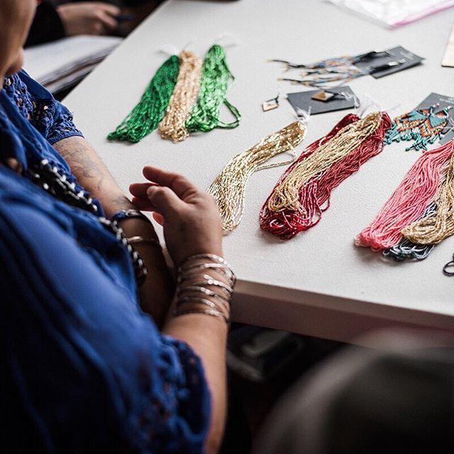 """The only way out of poverty is education."" --Janet, By Grace Rosebud . . .  #rosebudreservation #womenforwomen #entrepreneur #hope #handmadefashion #jewelry #overcomingabuse #bygrace #thebygracefoundation"