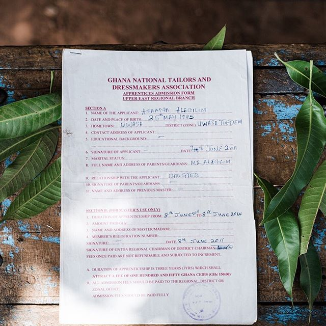 These pieces of paper changed a family's life. . By Grace covers the cost of a sewing machine, supplies and three years of training for women so that they can become entrepreneurs and work in a dignified profession. . Real, sustainable change starts with empowering women.