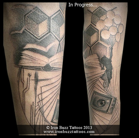 custom_theme_camera_book_tv_on_arm_black_and_grey_tattoo_best_design_for_men_and_women_by_artist_eric_dsouza_at_iron_buzz_tattoos_and_piercing_versova_andheri_mumbai.jpg