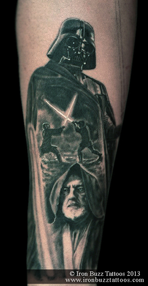 Star Wars theme tattoo