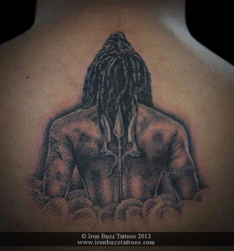 Beautiful Mahadev Trishul Tattoos Photo Gallery for free download