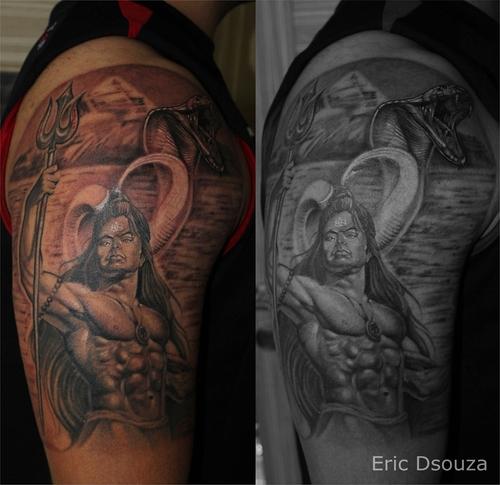 Best Lord Shiva Mahadev Tattoos Done At Iron Buzz: 10 Lord Shiva Tattoos Done At Iron Buzz By Tattoo