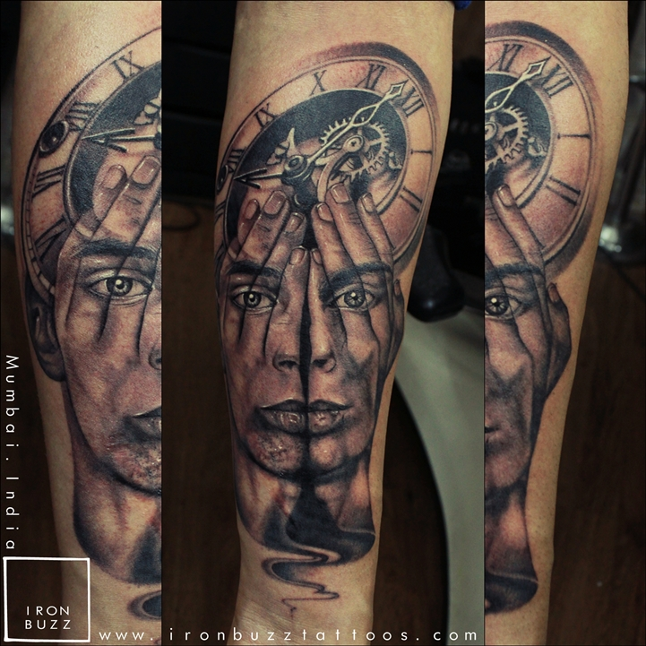 Illusion of Time and Soul tattoo