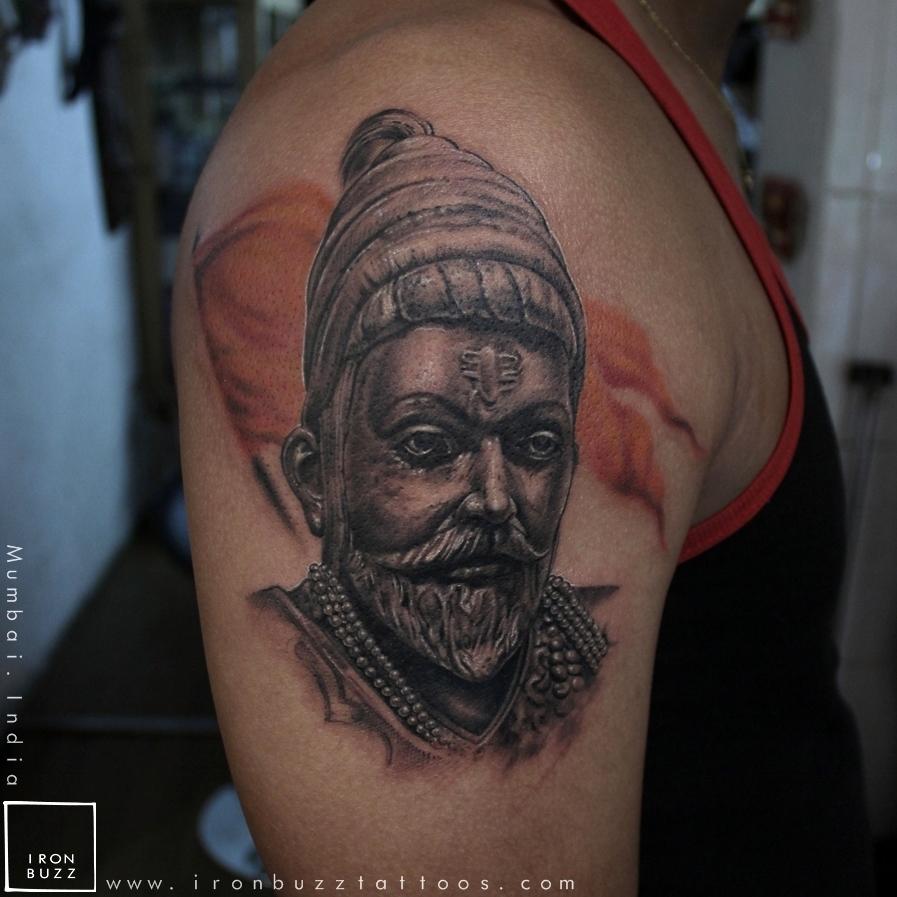 Chhatrapati Shivaji Maharaj Tattoo