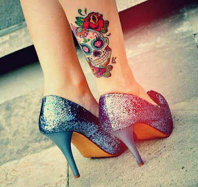 Ankle Tattoo More Sexiness For Women