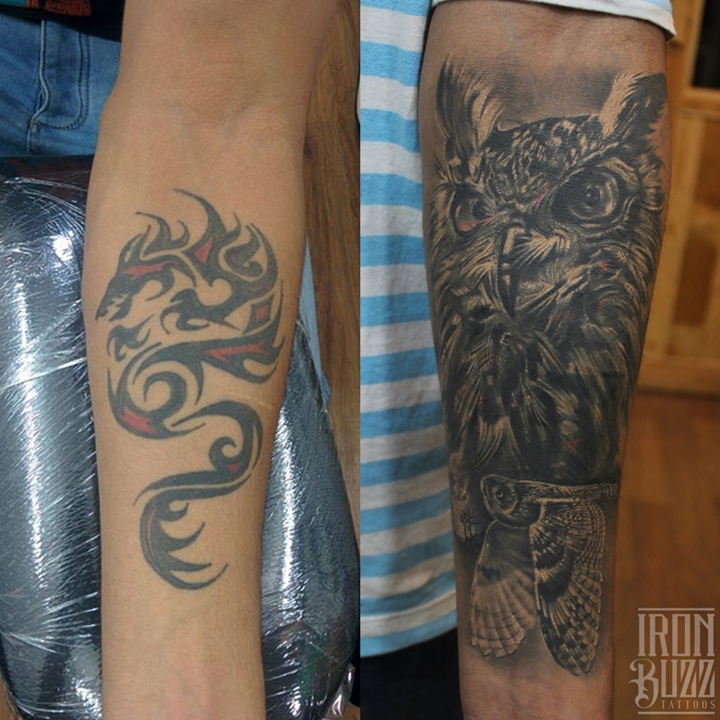 15 best forearm tattoos done at iron buzz tattoos mumbai for Forearm tattoo cost