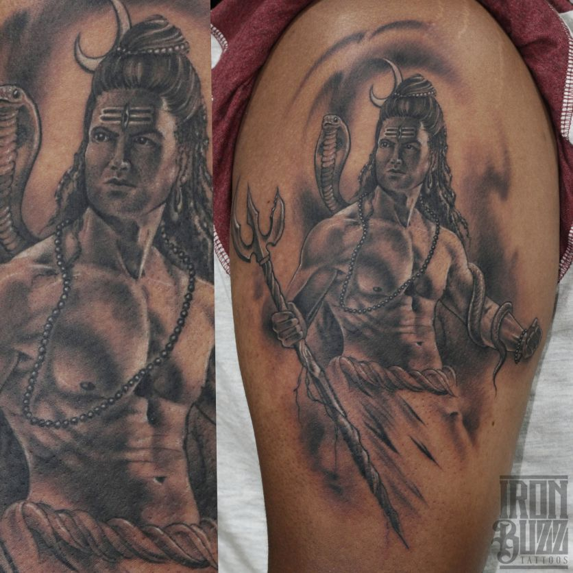 Lord Shiva Tattoo The Lord Is Back Series By Eric Jason: India's Best Tattoo Artists
