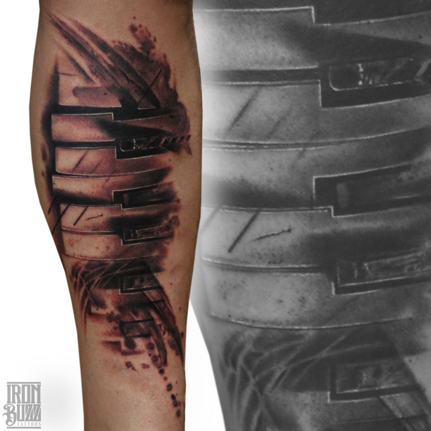 Tattoos By Ex Employees Iron Buzz Tattoos: 15 Best Watercolour Tattoos Done At Iron Buzz Tattoos