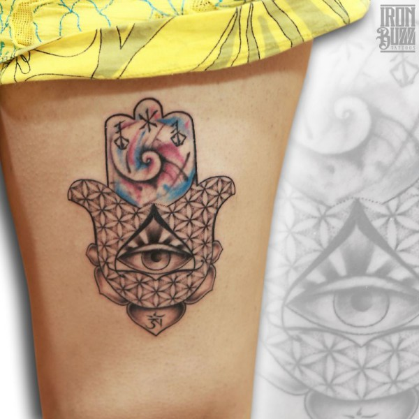 hamsa+hand+tibetian+om+aum+realistic+eye+realism+watercolour+aquarelle+painting+dotwork+flower+of+life+tattoo+design+by+best+tattoo+artist+in+mumbai+from+best+tattoo+parlour+in+india+iron+buzz+tattoos+mumbai.jpg