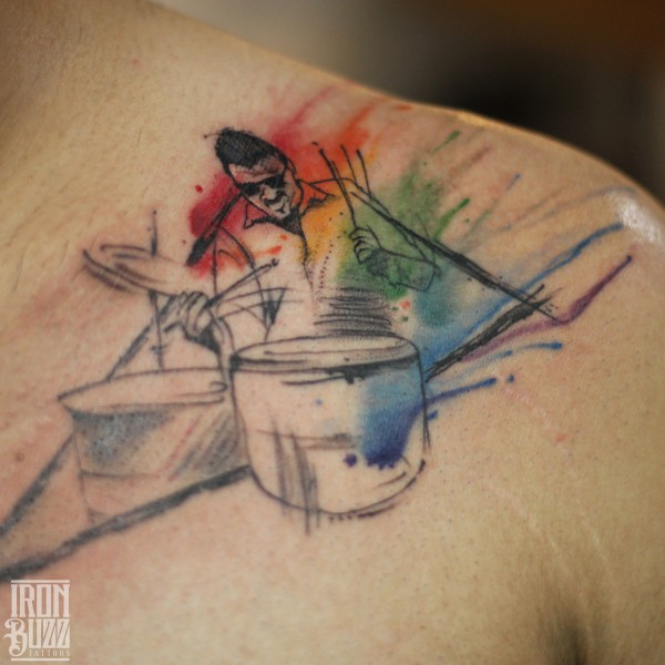 watercolour+abstract+drummer+pink+floyd+rock+band+tattoo+design+on+chest+by+best+tattoo+artist+aadesh+eric+jason+dsouza+in+mumbai+from+best+tattoo+parlour+in+india+iron+buzz+tattoos+bandra+mumbai.jpg