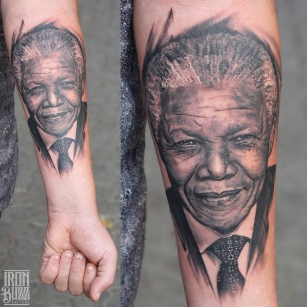 Hyper Realistic portrait of Nelson Mandela