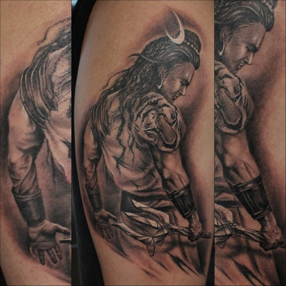 Tattoo Designs God Shiva: Best Tattoos Artist In India — IRON