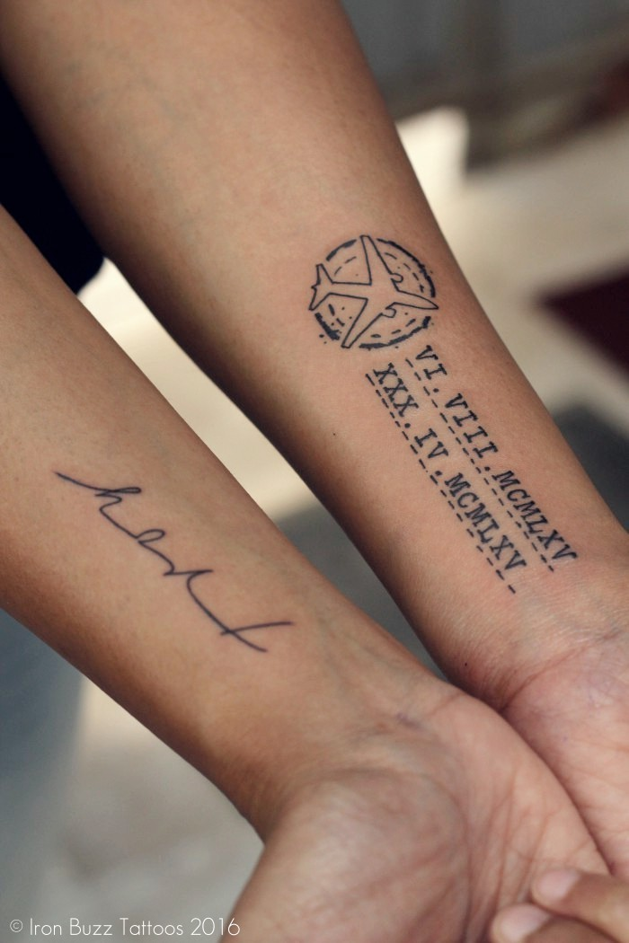 24 inspiring small cute tattoos for boys and girls india for Small cursive tattoos
