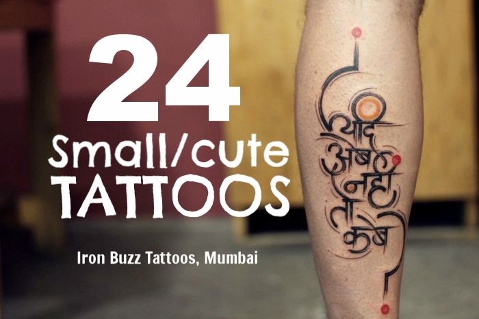 24 Inspiring Small/Cute Tattoos For Boys And Girls