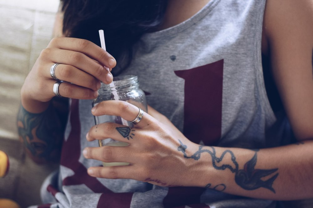 8 Foods And Drinks That Can Help Your Tattoo Healing Process