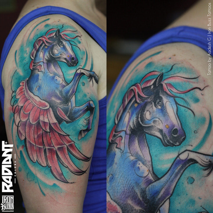 abstract-watercolour-pegasus-horse-wings-animal-tattoo-iron-buzz-tattoos-in-mumbai-india