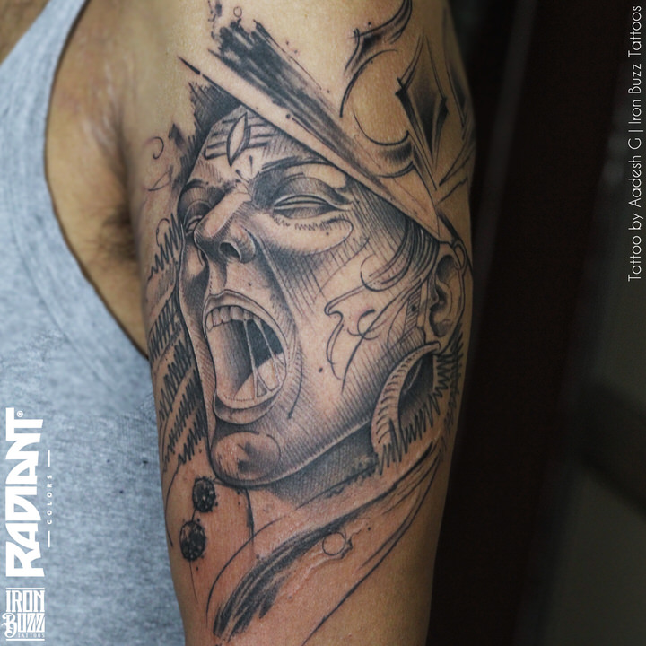 Tattoo Designs Mahadev: Best Lord Shiva / Mahadev Tattoos Done At Iron Buzz
