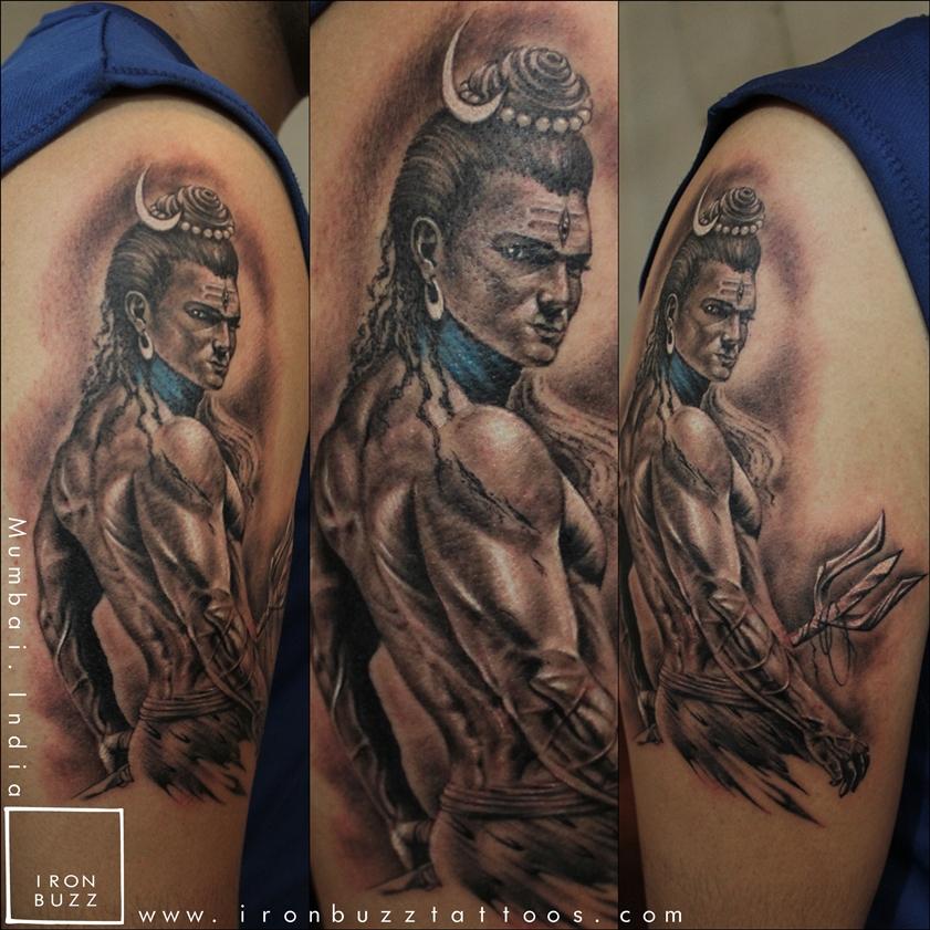 Best Lord Shiva Mahadev Tattoos Done At Iron Buzz Tattoos