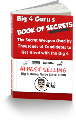 Get the secret weapon. The #1 BEST SELLING Big 4 Accounting Firm Hiring Guide since '08!