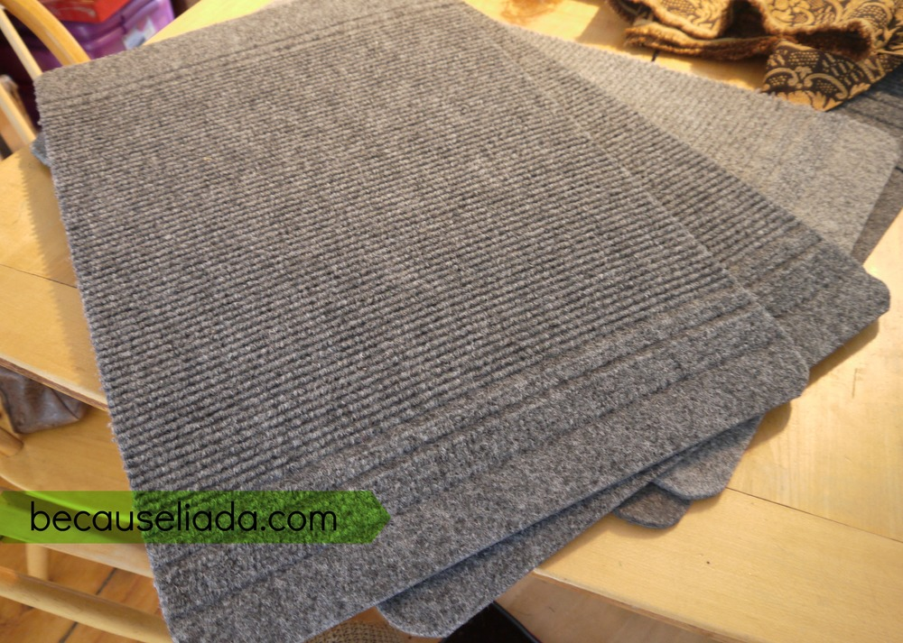 Make Your Own Carpet Stair Treads Because Liada