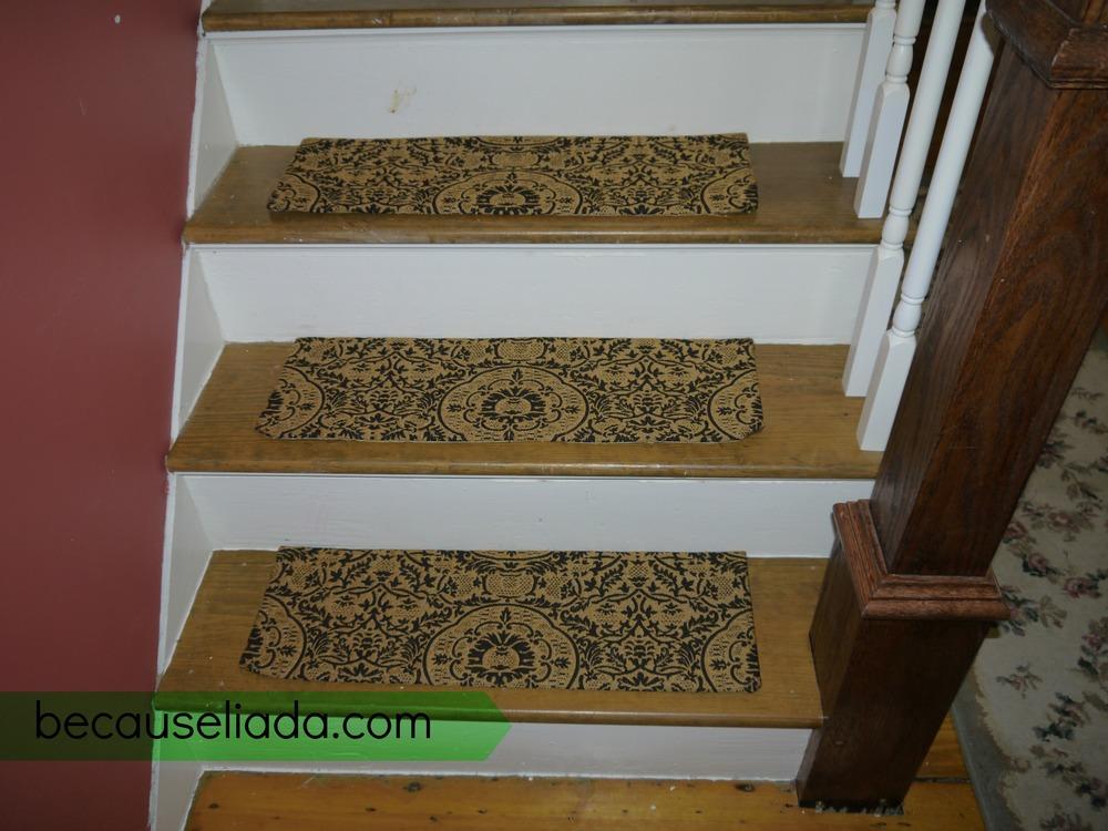 DIY carpet stair treads 2