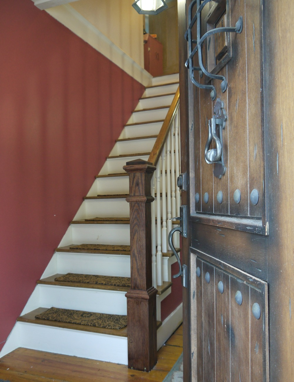 Make Your own Carpet Stair Treads 3