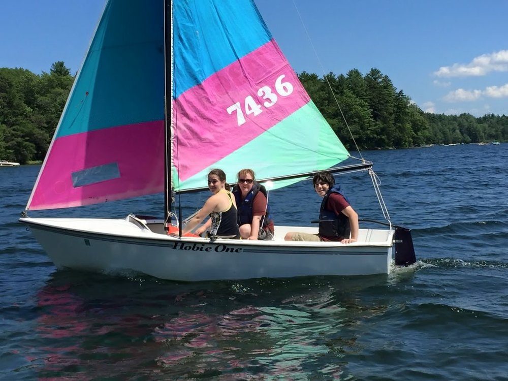 sailing adventures on my sailboat... i love living in the lakes region of new hampshire