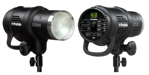 Profoto D1 Air Compact 1000 Ws m. inbyggd reflektor  Läs mer här